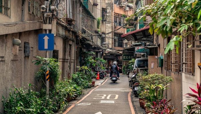 台湾の道路